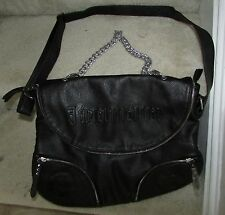 Jagermeister Black Messenger Laptop Bag Purse Leather Like Brand New