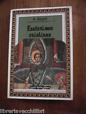 ESOTERISMO CRISTIANO A Besant Melita Editori Religione Cattolica Saggistica di