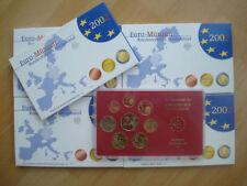 GERMANIA  2002  FONDO SPECCHIO 5 ZECCHE  UNC.