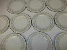 "10 Noritake plates ""Savannah  #2031"" Japanese porcelain china dinnerware 6 3/4"""