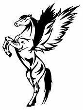 PEGASUS HORSE STICKER DECAL BRAND NEW FOR CAR,FLOAT, TACK BOX, LAPTOP, 4WD