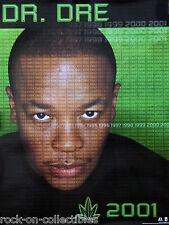 Dr. Dre 1999 Chronic 2001 Original Promo Poster Green