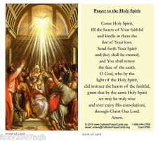 Prayer to the Holy Spirit Prayer Card Fill The Hearts Of Your Faithful