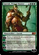 GARRUK, PRIMAL HUNTER M13 Magic 2013 MTG Green Planeswalker MYTHIC RARE Beast