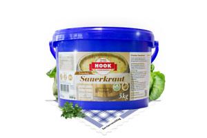 HOOK Sauerkraut frisch im 5 kg Eimer blau (2,59 EUR/kg)