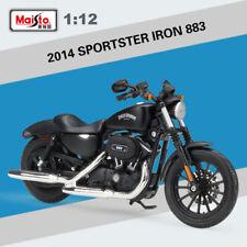 Genuine Collection Harley Davidson 2014 SPORTSTER IRON 883 Maisto 1:12 Scale New