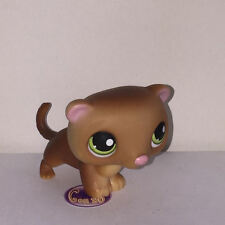 Littlest PetShop FURET MARRON YEUX VERTS 209 RACCOON Pet Shop F10