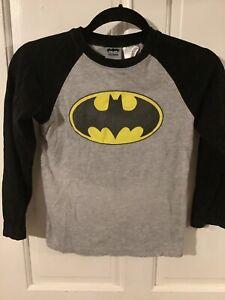 Boys batman 4-7 color block sweatshirt