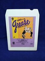 Vintage MGM 1972 Broadway Cast Grease Album 8 Track Tape Cartridge