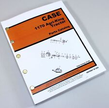 CASE 1170 AGRI-KING TRACTOR LOADER PARTS MANUAL CATALOG EXPLODED VIEWS NUMBERS