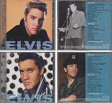 ELVIS PRESLEY Collection TREASURES 1958-1958 & 1960-1963 TIME LIFE 4 CD Lot