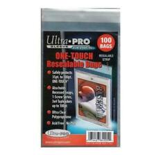 Ultra PRO ONE-TOUCH Resealable Bags - Pack of 100