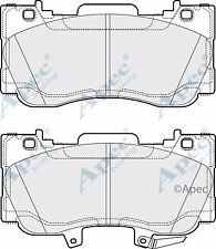 Apec Front Brake Pad Set Fits Ford Mustang 2.3 EcoBoost 2015-2018
