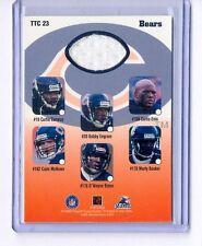 CHICAGO BEARS 1999 Playoff Momentum SSD Team Thread Checklist Dual Jersey TTC-23