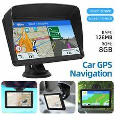 Car Truck Gps Sat Navigation 8Gb 128Mb Ram Touch Screen Navigator Free Map