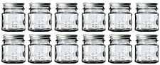 8 oz Mason Jars with Lids and Bands (12-Count), For Food Storage