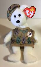 Ty Beanie Babies Tour Teddy 2006  PGA Exclusive With Tag