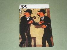 tintin (dupond & dupont) carte téléphonique  (phone card) OBJET Bd