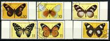 Saint Thomas and Prince Islands 1979 Mi. 561-566 Used 100% butterflies