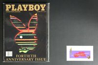 💎 PLAYBOY MAGAZINE:  JAN 1994 40TH ANNIVERSARY ISSUE COLLECTOR'S EDITION X💎