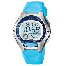 Casio Ladies Illuminator LCD Dial Light Blue Strap Sports Watch LW-200-2BVDF