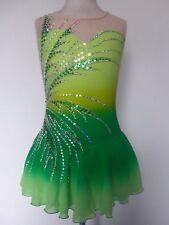 CUSTOM NEW ICE SKATING BATON TWIRLING DANCE DRESS COSTUME