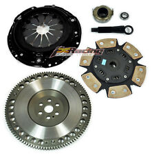 FX Xtreme Stage 3 Clutch Kit &Flywheel for 92-05 Honda Civic D16Y7 D16Y8 D16Z6