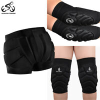 Adults Skating Protective Gear Armored Shorts EVA Padded Knee Elbow Pads Brace