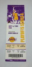 2006 Round 1 Game 4 Suns @ Lakers Playoff Courtside Full Ticket Kobe OT Win 4/30