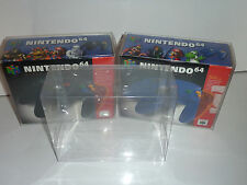 2 x nintendo 64 controller box protectors ultra thick n64