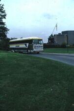 Us Bus Line Mci bus Kodachrome original Kodak slide