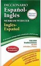 Diccionario Espanol-Ingles Merriam-Webster by Merriam Webster (2014, Paperback)