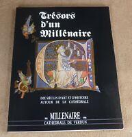 TRESORS D'UN MILLENAIRE -10 SIECLES D'ART ET D'HISTOIRE CATHEDRALE VERDUN 1990