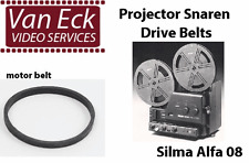 Silma Alfa 08 belts. 2 belt set (motor belt, counter belt) (BT-0851-MC)