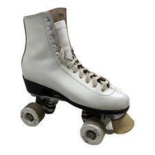 Vintage Pacer 991 Roller Skates White Leather Size 7