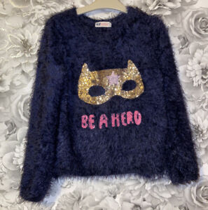 Girls Age 8-10 Years - Fluffy Jumper From H&M