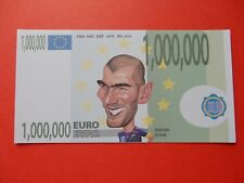 €1000000 Million Note WORLD CUP Euro Football FRENCH Bill Millionaire Christmas