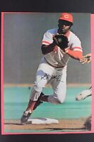 Joe Morgan Cincinnati Reds HOF Autographed 8x10 Signed Magazine Photo 17F