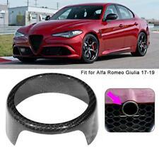 Auto Tuning Cornice decorativa per badge Alfa Romeo Giulia in fibra di carbonio