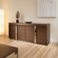Dining Room Oak Unbranded Brown Sideboards & Buffets