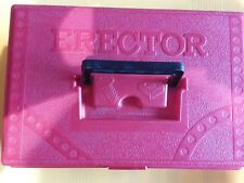 erector set lot with case free shipping