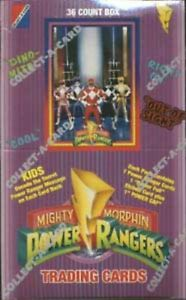 Collect-A-Card's 1994 MIGHTY MORPHIN POWER RANGERS SERIES 1 single cards