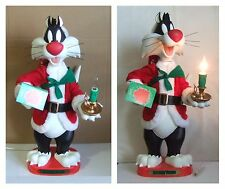 Looney Tunes Sylvester Animated Figure 22'' Christmas Light & Motion RARE (SLF)