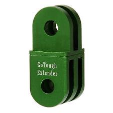 GoTough 20mm Green Extender for GoPro 2 Prong Mount - Aluminum Extension Arm