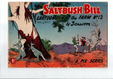 SALTBUSH BILL  No 12  FINE/V FINE  CONDITION 1950s ORIGINAL AUST COMIC