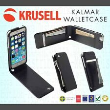 Krusell Kalmar iPhone 6/6s/7/7s/8 REAL LEATHER Flip Wallet Case Card/Cash Holder