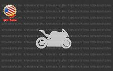 Sport Bike Motorcycle Silhouette Decal Sticker Graphic art