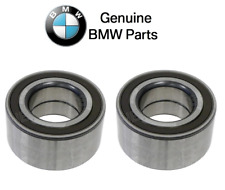 For BMW E82 E90 E91 E92 Pair Set of Left & Right Rear Wheel Bearings Genuine