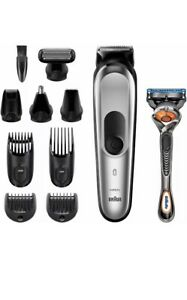 Braun Clipper MGK7220 10 IN 1 Set Waxing Body And Hair Clippers Man AA