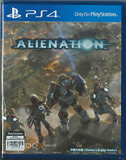 Alienation HK Chinese + English Subtitle Verison English Voice PS4 NEW